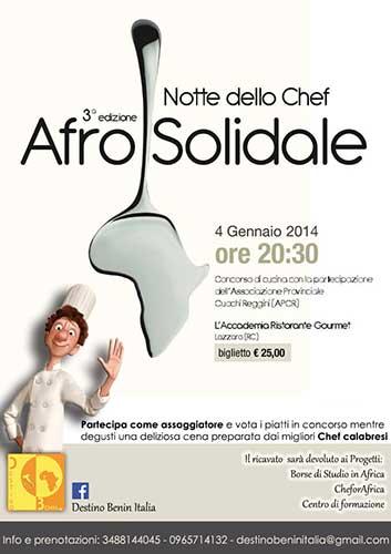 afrosolidale_NotteChef2014